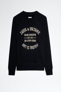 Sweatshirt Upper Blason Brodé
