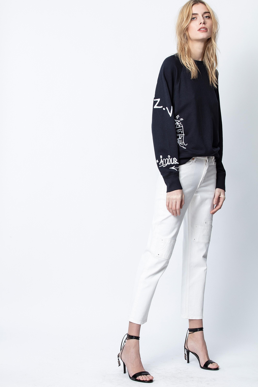 Sweatshirt Upper Bestickt Jormi