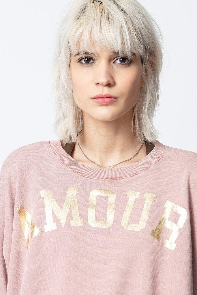 Sweatshirt Portland Amour Foil
