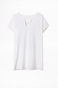 Photoprint Henley T-shirt