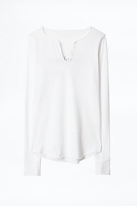 Definition Amoureuse Cotton Henley T-shirt