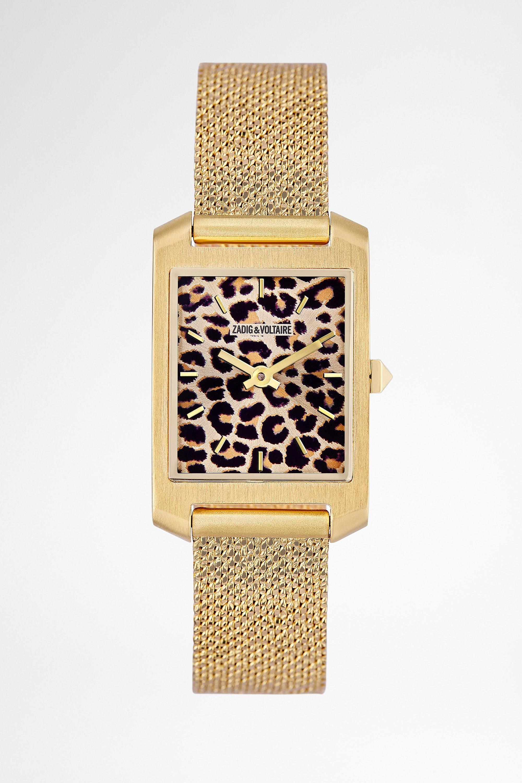 Reloj Timeline Leopard Print