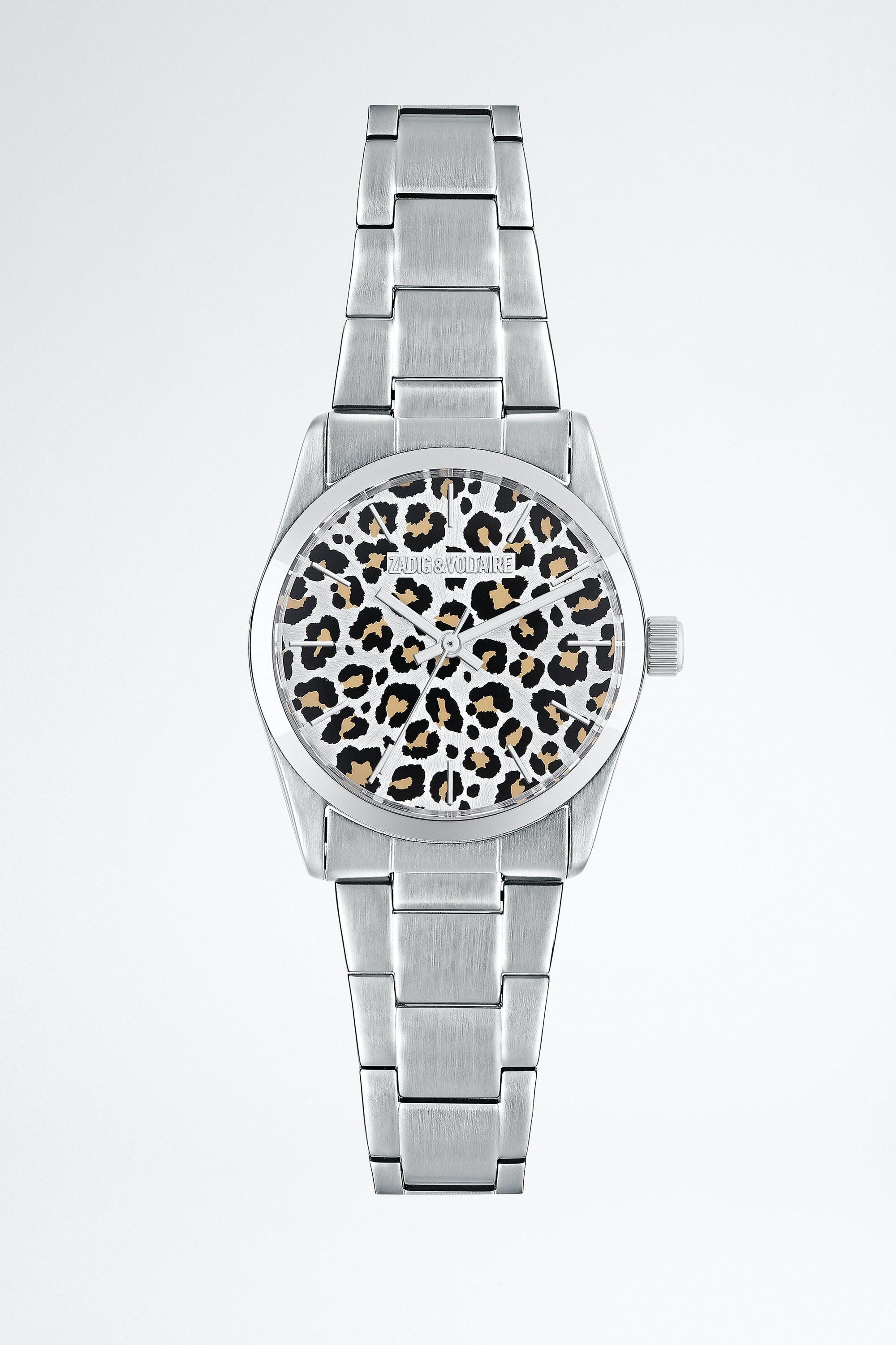 Leopard Printed Fusion Watch