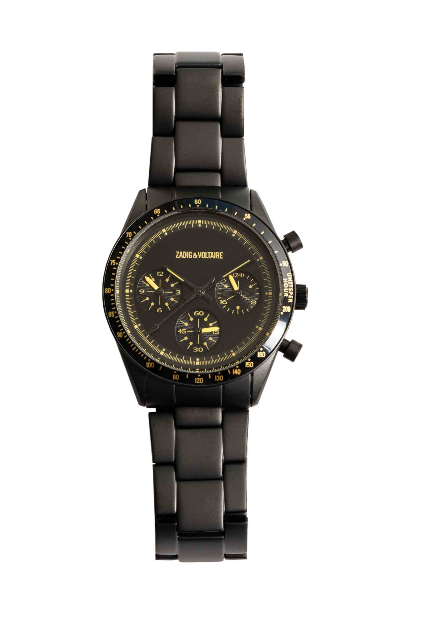 Armbanduhr Master Black & Yellow 36