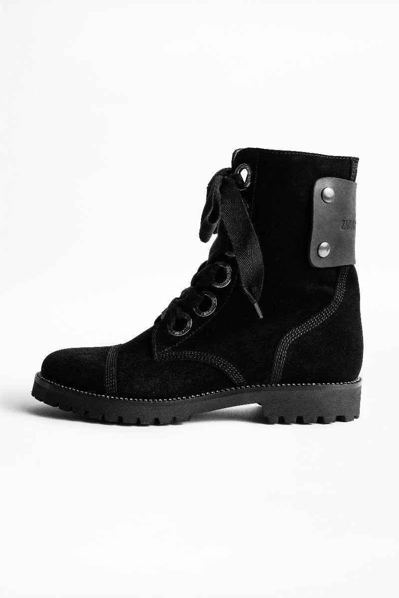 Bottines Joe Suede
