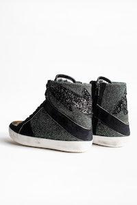 Sneakers High Flash Lurex
