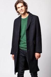 Matt Wool Coat