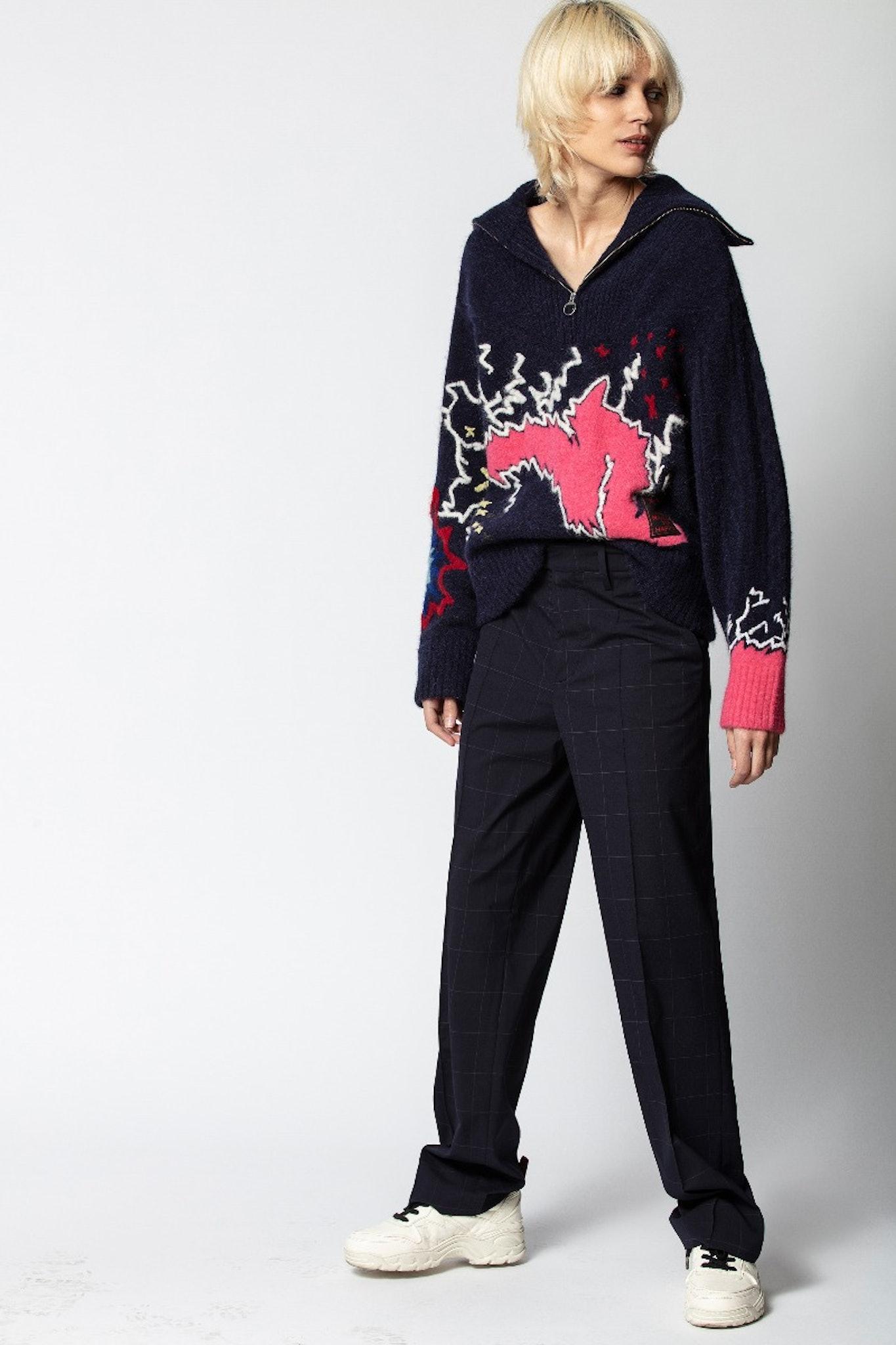 Clea Glam Rock Sweater