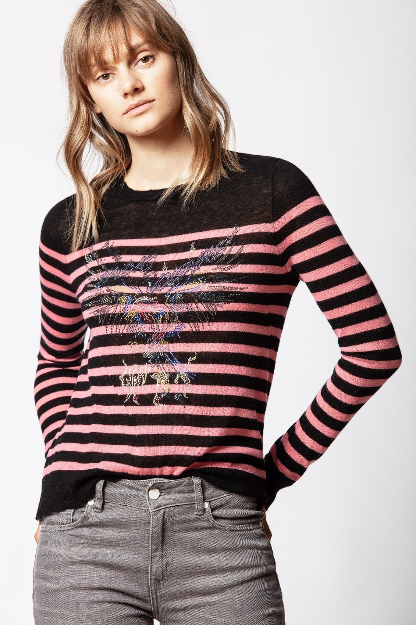 Miss Eagle Cachemire Sweater