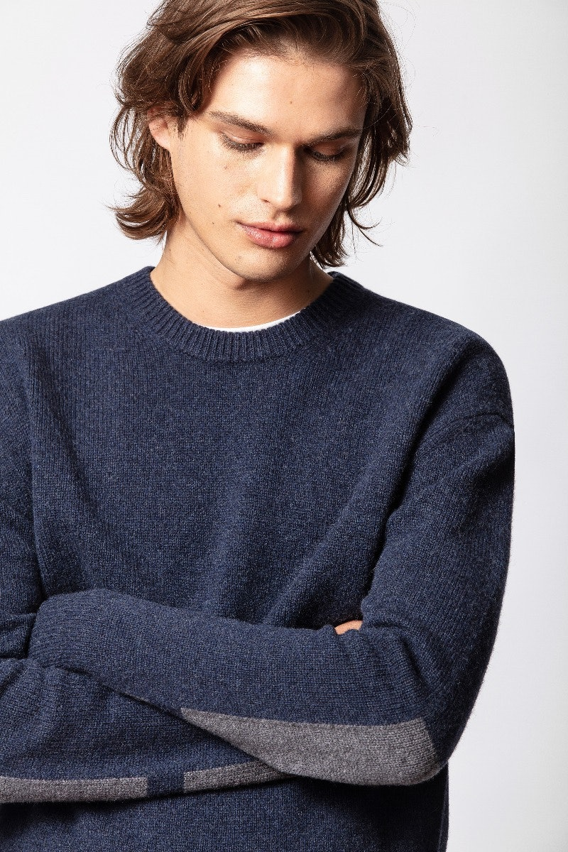Raphael Patch Sweater