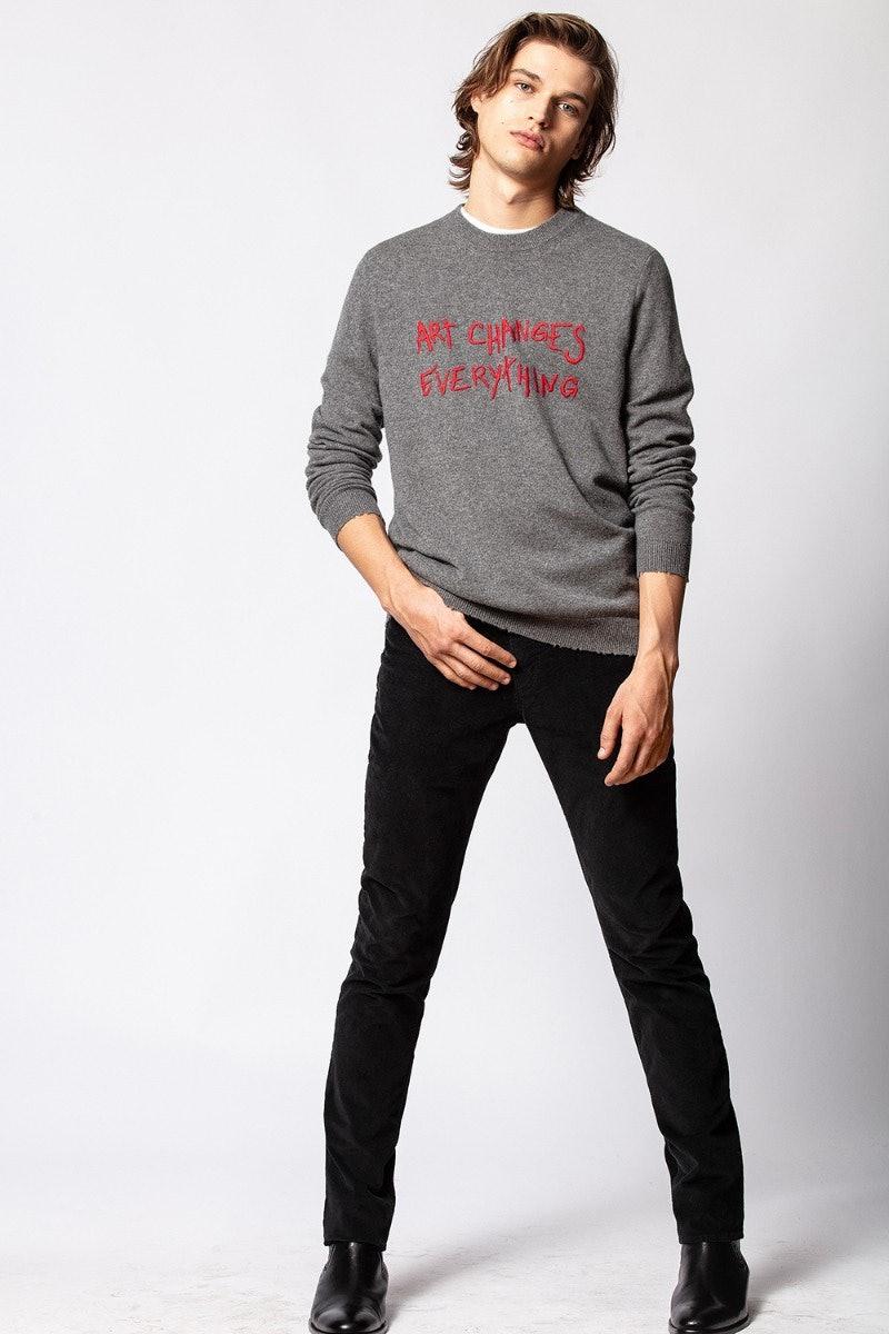 Liam Art Sweater