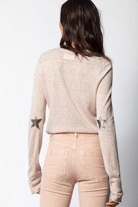 Tessa Cachemire Star Patch Sweater