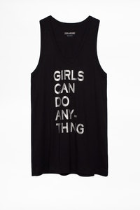 Camiseta sin mangas Jamy Girls Can Do