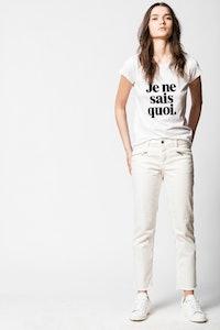 Je Ne Sais Quoi Skinny T-shirt