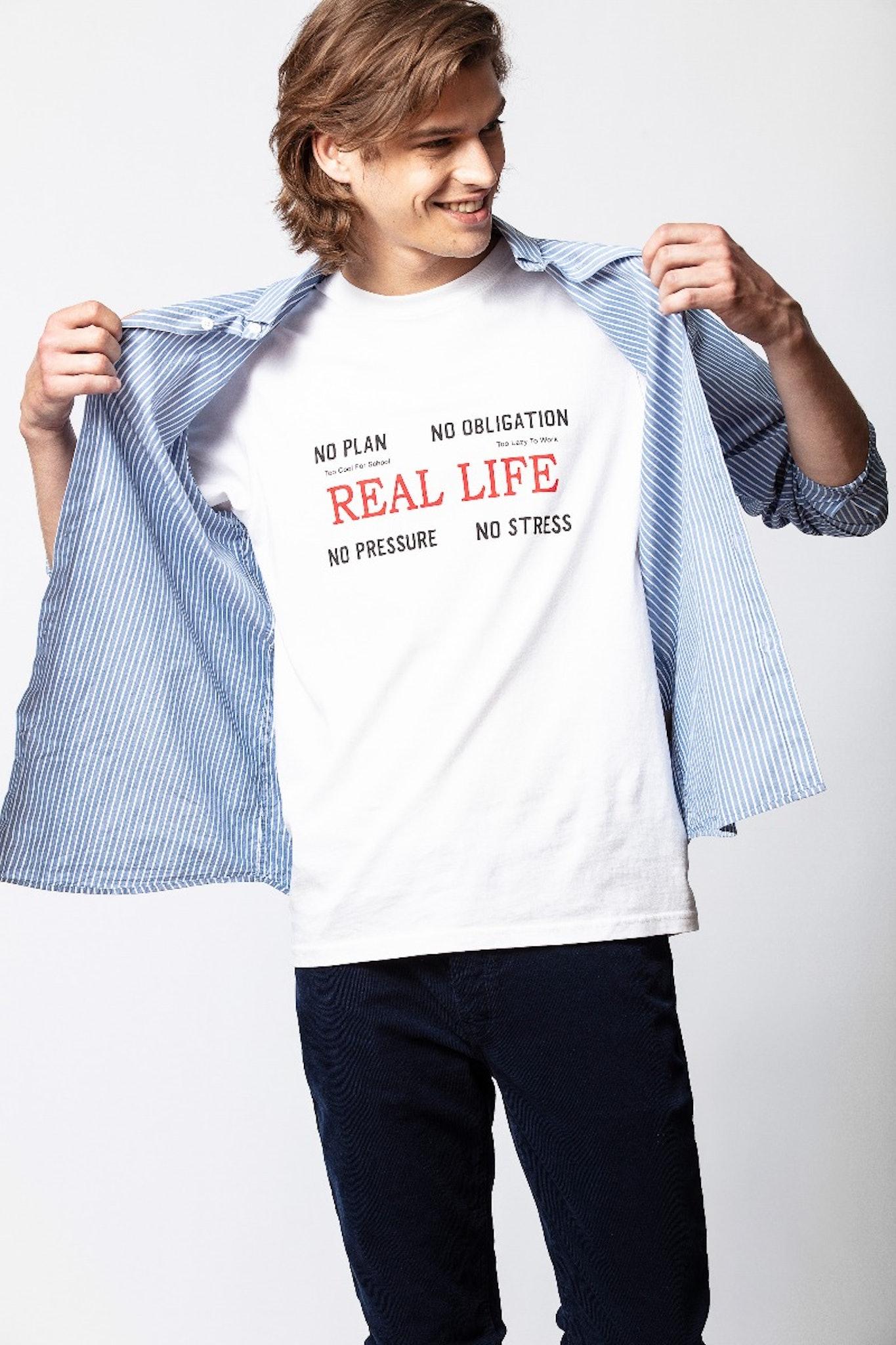 Camiseta Tibo Real Life