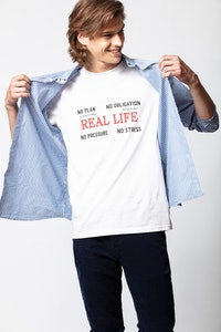 T-Shirt Tibo Real Life