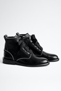 Laureen Roma Studs Ankle Boots