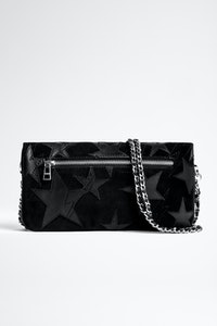 Clutch Rock Suede Patchwork