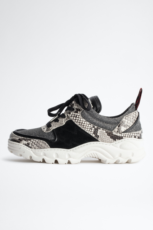 Blaze Lurex Wild Sneakers