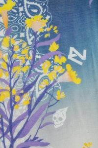 Foulard Fray Tie Dye Bloom