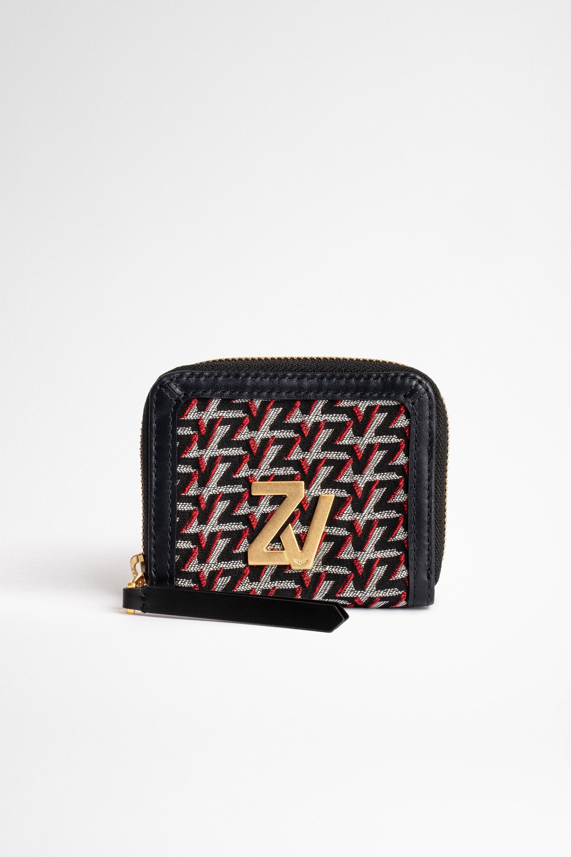 Portemonnaie ZV Initiale Le Compact Monogram