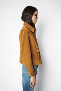 Light Suede Jacket