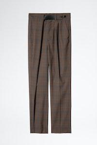 Pantalon Phoebe Carreaux