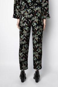 Pantalon Poppy Velvet Blossom