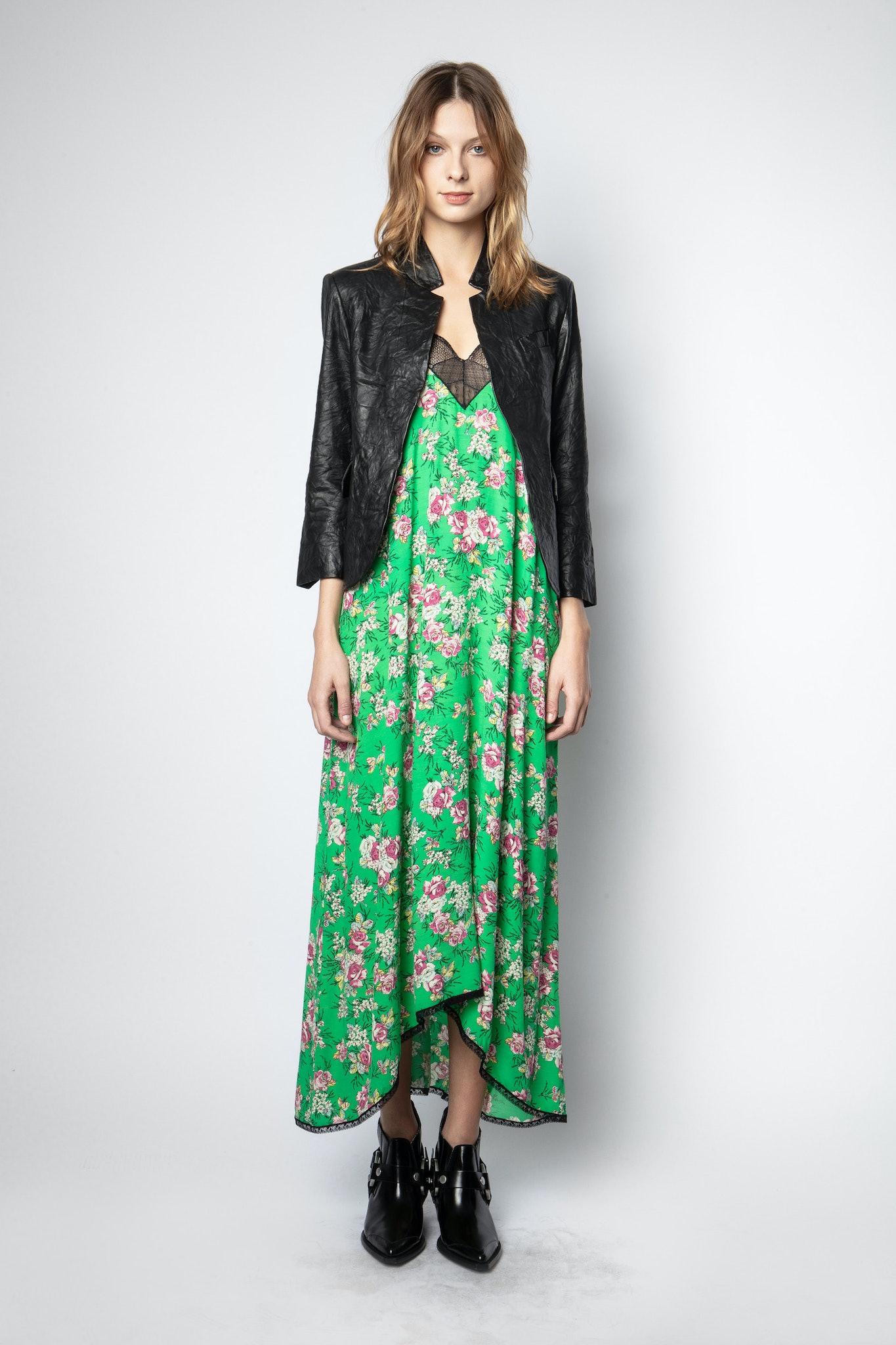 Risty Print Roses Dress