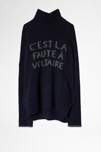 Alma C'est La Faute A Voltaire Sweater