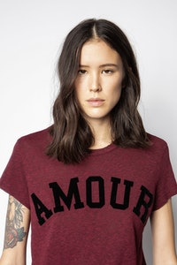 Camiseta Walk Amour Overdyed