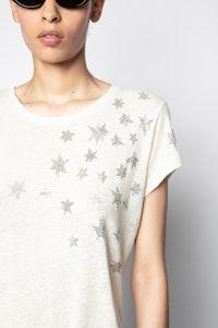 T-Shirt Skinny Stars Strass
