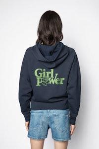 Sweatshirt Clipper Girl Power